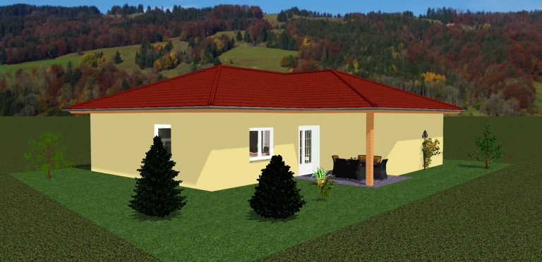 Bungalow Beer ca. 107m²